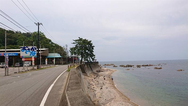 福井県の越前海岸