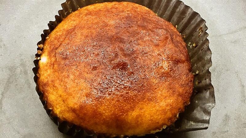 ヤマザキのクリームブリュレ風蒸しケーキ