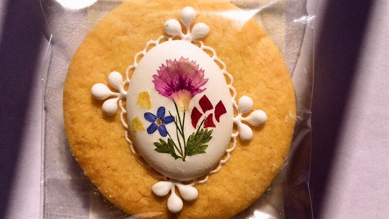 トキメキのお菓子 「お花のレースサブレ」 r&【アールアンド】